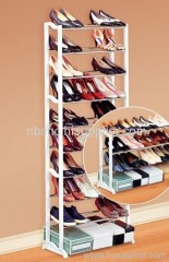 Super size shoe rack