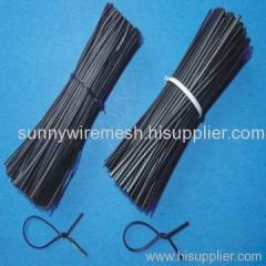 black cutting wire