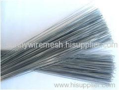 galvanized cutting and straighten wire