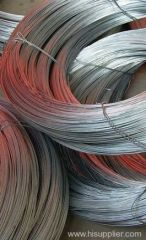 Hot-dipped wire