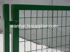 framed welded mesh panel
