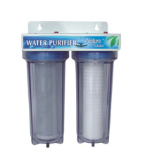pure home double water filtration