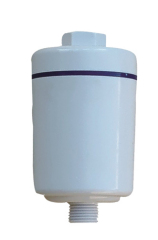 plastic shower water filter