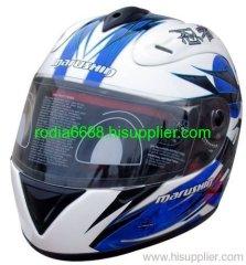 ECE Open Face Fiberglass Motorcycle Helmet