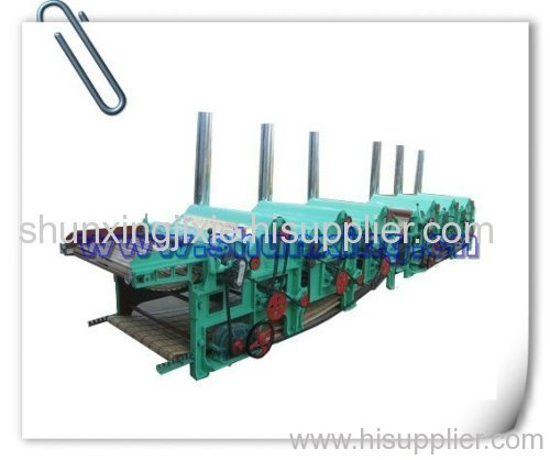 wool waste recycling machine