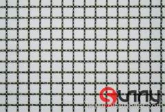 stainless steel crimped mesh panel
