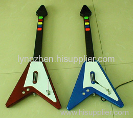 For PS2 V shape guitar rockband with wire