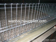 chicken cage made of welded mesh