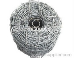galvanized barbed wire for safe defence