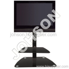 glass tv stands for lcd tv
