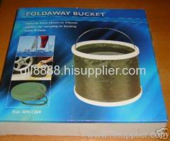 Folding buckets