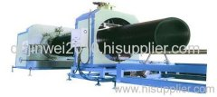 hollowmess wall winding pipe production line
