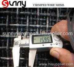 mine sieving crimped mesh