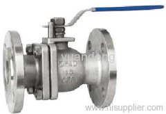 2PC Ball Valve with Metal Seats