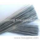 black cut iron wire