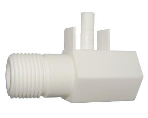 Plastic water feed adaptor