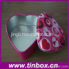 heart shape chocolate tin