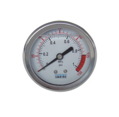 pressure gauge with oil