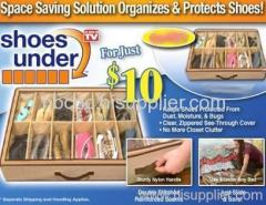 shoes under shoes organizer