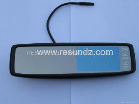 """4.3"""" Car Rearview Mirror LCD Monitor Touch button Bluetooth for Toyota,Honda"""