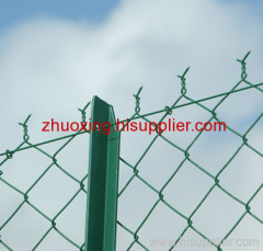 High precision Galvanized Chain Link Fence
