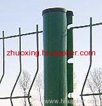 pvc coat curvy welded mesh fence