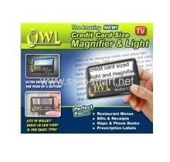 Owl Optical Wallet Light