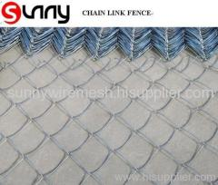 heavy galvanized chain link fence