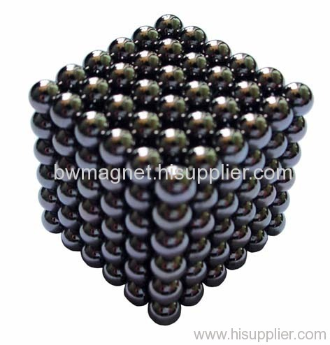 Rare earth magnet balls