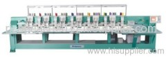 Dynamic mixed coiling computerized embroidery machine