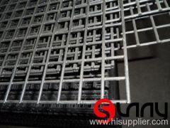 black PVC coated welded mesh