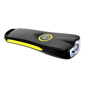 LED clock flashlight