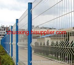 Curvy Welded Fence Wire Mesh Netting