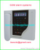 GSM alam system with LCD display and touch keypad