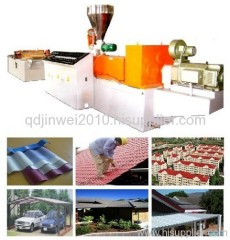 PVC roof machine