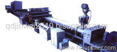 Plastic Earthwork Grid Production Line