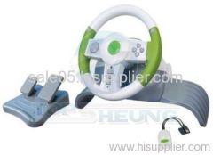 4 in 1 wireless Steering Wheel