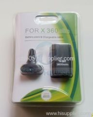 XBOX360 Slim Battery pack and Chargeable Cable