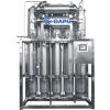 Inside spiral multi-effect distilled water machine