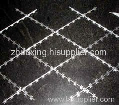 Straight Type Razor Wire fence wall