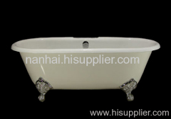 cast iron popular double ended bath