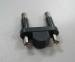 2 pins India Cable plug insert