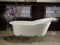 62'' clawfoot bath