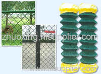 PVC-Coated Chain Link Fence