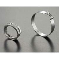Single Ear Pinch hose clamp