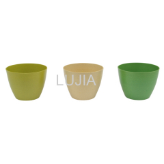 Environmental rice hull flowerpot