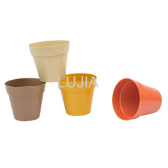 Biodegradable natural flowerpot