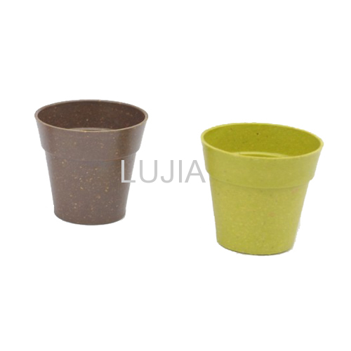 Colorful Plant Fiber Flower Pot