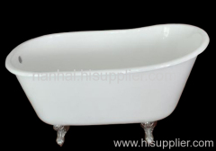 small cast iron bathtub