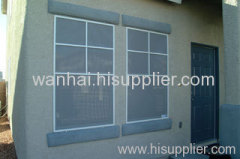 plastic window wire screening